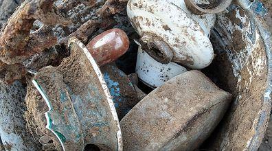 Artefakty z okresu I wojny światowej. Niezwykłe odkrycie na Lubelszczyźnie
