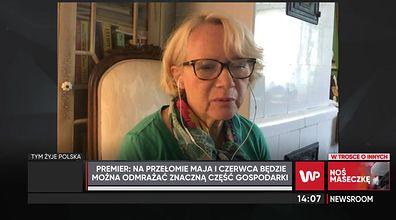 Prof. K. Bieńowska-Szewczyk szczerze o powrocie dzieci do szkół