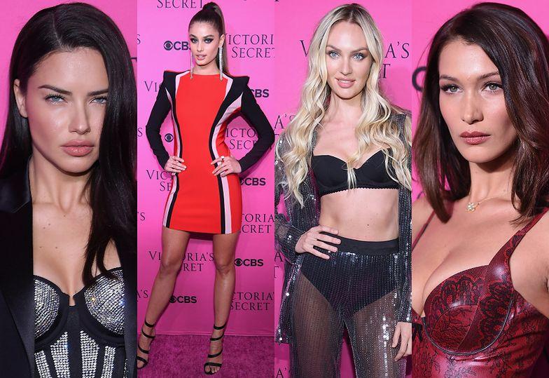 Adriana Lima, Taylor Hill, Candice Swanepoel i Bella Hadid