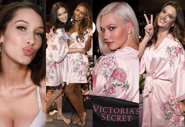 Modelki Victoria's Secret szykują się do pokazu