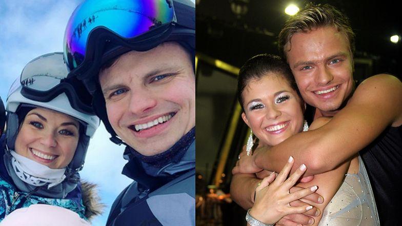 Uśmiechnięci Kasia Cichopek i Marcin Hakiel chwalą się narciarskim SELFIE Z DZIEĆMI (FOTO)