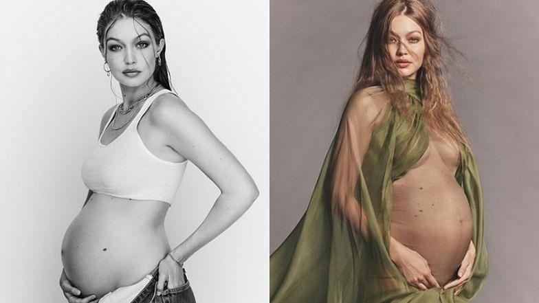 """Zmysłowa Gigi Hadid prezentuje NOWE zdjęcia z ciążowej sesji. Ashley Graham ocenia: """"JUŻ PRAWIE CZAS!"""" (ZDJĘCIA)"""