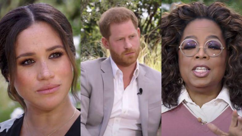 """Meghan Markle w sukience za 18 TYSIĘCY i """"skromny"""" Harry u Oprah: """"Bycie royalsami było PRAKTYCZNIE NIE DO PRZEŻYCIA"""""""