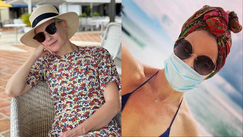 """Przebywająca na wakacjach Małgorzata Kożuchowska odpiera ataki internautów: """"Wspieram polską i lokalną branżę turystyczną"""" (FOTO)"""