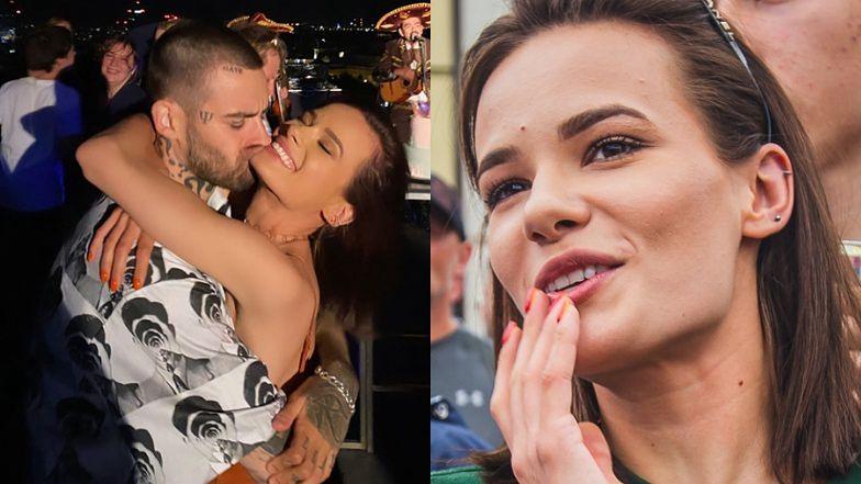 Romantyk Quebonafide całuje podbródek Natalii Szroeder. Słodko? (FOTO)