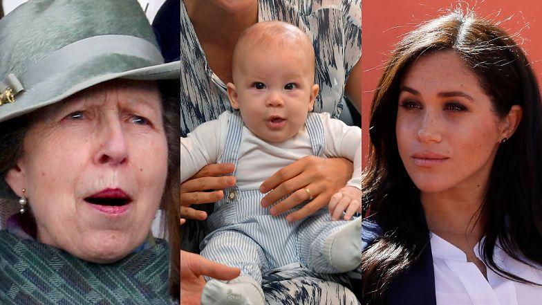To księżniczka Anna zamartwiała się KOLOREM SKÓRY dziecka Meghan Markle i Harry'ego?