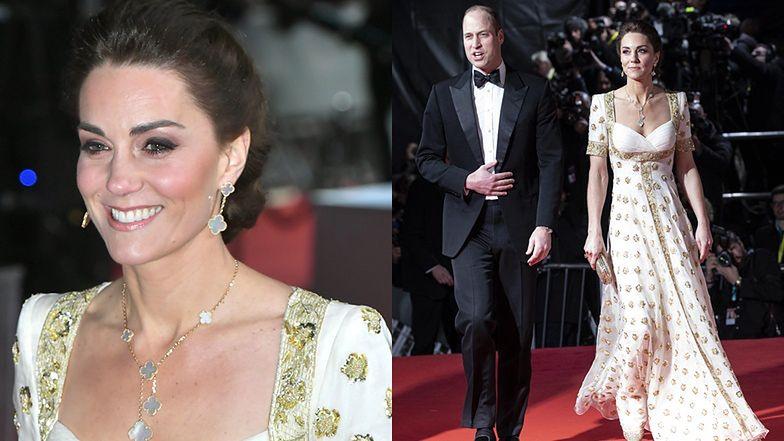 BAFTA 2020: Księżna Kate założyła drugi raz tę samą suknię