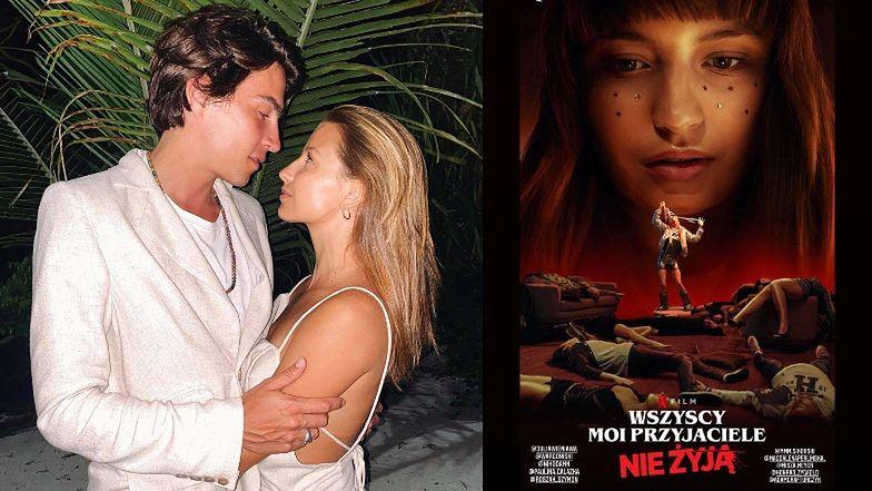 Julia Wieniawa pokazała plakat filmu Netfliksa, w którym zagrała z Nikodemem Rozbickim. Będzie hit?