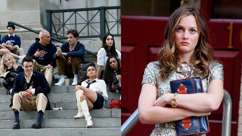 """Nowa obsada """"Plotkary"""" debiutuje na słynnych schodach Metropolitan Museum of Art"""