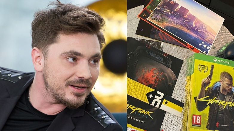 """Daniel Martyniuk pochwalił się kupnem gry """"Cyberpunk"""". To tak spędza wieczory po """"CIĘŻKIM"""" DNIU NA CMENTARZU?"""