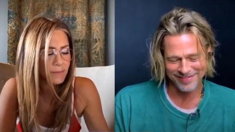 """Jennifer Aniston do Brada Pitta: """"Jesteś taki seksowny!"""""""