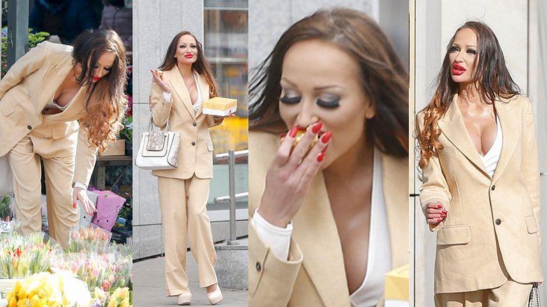 Małgorzata Godlewska celebruje Dzień Kobiet tulipanami i słodkościami