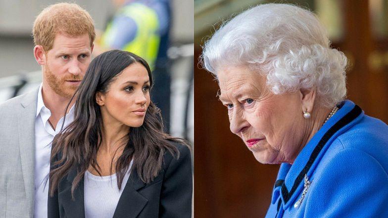 """Meghan i Harry pokłócili się z królową Elżbietą o wywiad z Ophrą Winfrey! """"To OKROPNIE LEKCEWAŻĄCE"""""""