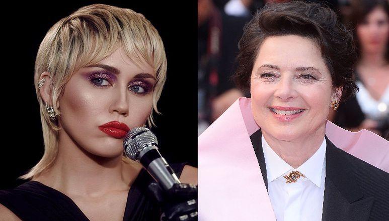 Miley Cyrus i Isabella Rossellini solidaryzują się ze Strajkiem Kobiet w Polsce