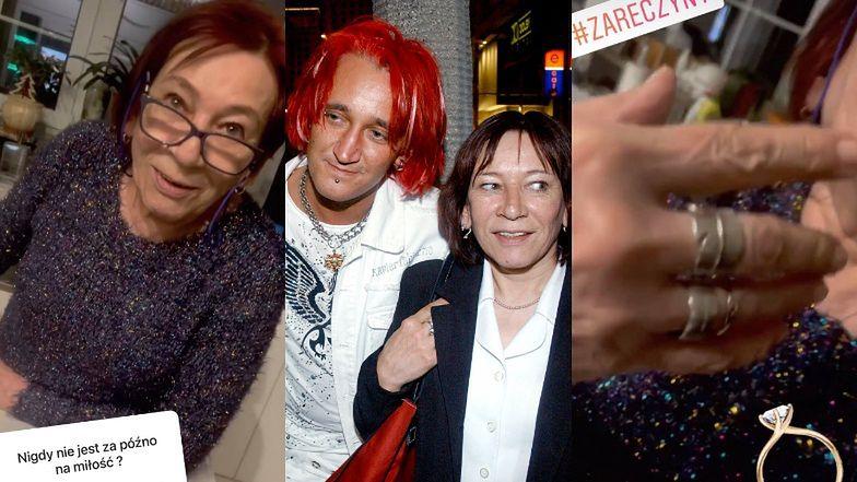 Mama Michała Wiśniewskiego ZARĘCZYŁA SIĘ!
