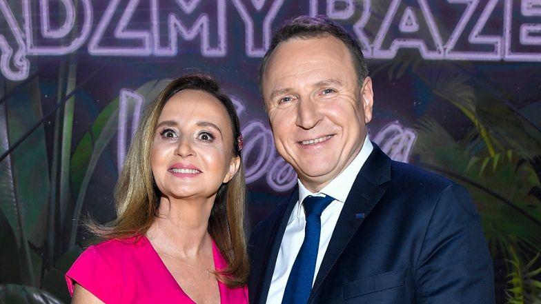 """Wzruszony Jacek Kurski i brzemienna Joanna zdradzają IMIONA pociechy! """"Nie możemy się doczekać"""""""