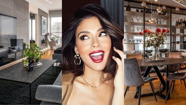 """Klaudia Halejcio i jej ukochany sprzedają apartament za 3 MILIONY ZŁOTYCH! Faktycznie jest """"na bogato""""? (ZDJĘCIA)"""