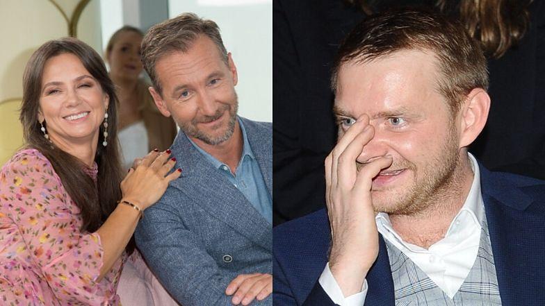 """Piotr Kraśko czule o Rafale Zawierusze na ramówce TVN-u: """"Pierwszy z Polaków, który tańczył z Leo za ręce, a Brad Pitt posyłał mu uśmiechy"""""""