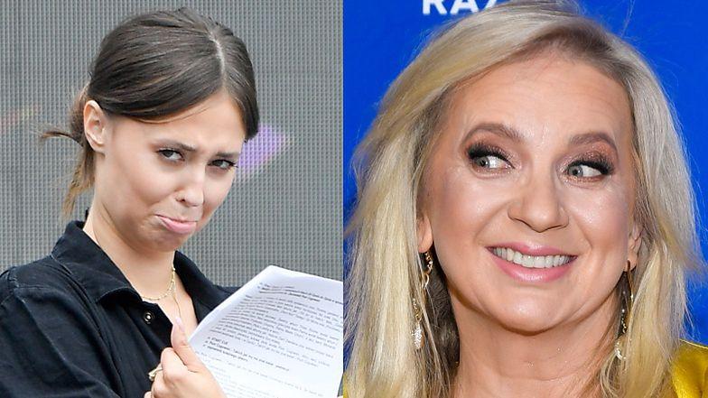 """Izabella Krzan wyznaje samokrytycznie: """"Nigdy bym nie próbowała Marzenki zastąpić, bo nie mam TAKIEJ WIEDZY"""""""