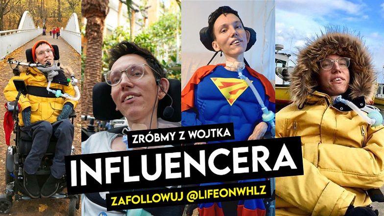 Poznajcie Wojtka Sawickiego - influencera z misją
