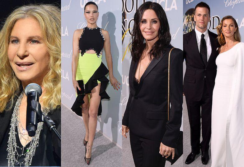 Barbra Streisand, Adriana Lima, Courteney Cox, Tom Brady i Gisele Bundchen
