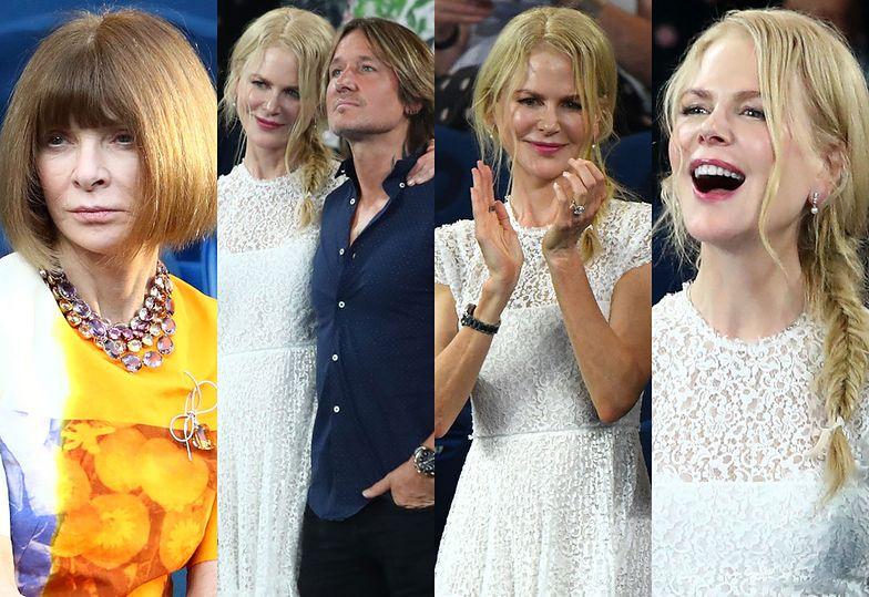 Nicole Kidman, Keith Urban i Anna Wintour bawią się na Australian Open