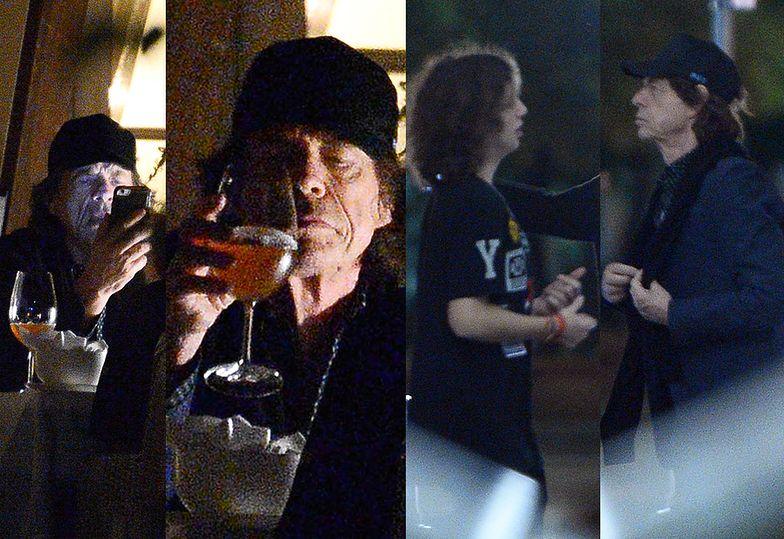 Mick Jagger w Warszawie