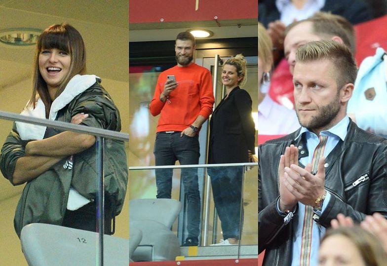 Gwiazdy na meczu Polska - Macedonia