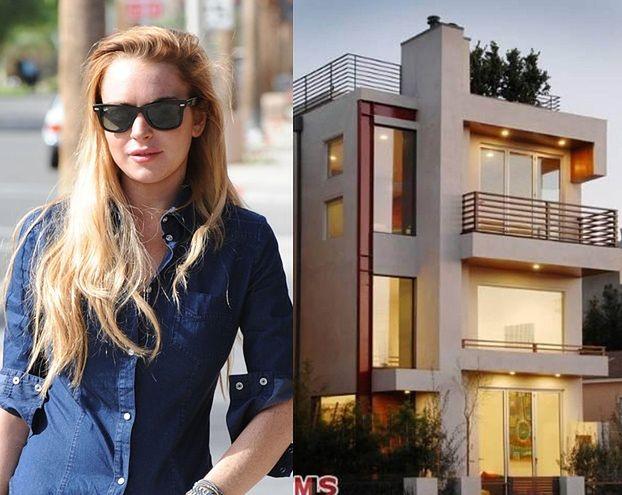 Piękny dom Lindsay Lohan! (ZDJĘCIA)