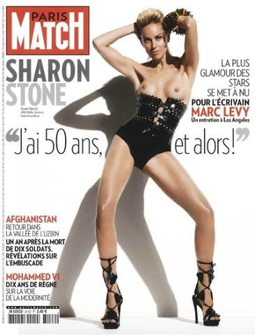 Sharon Stone topless!