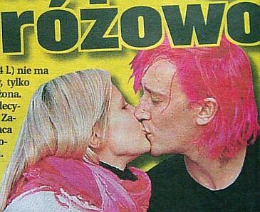Różowy Wiśniewski