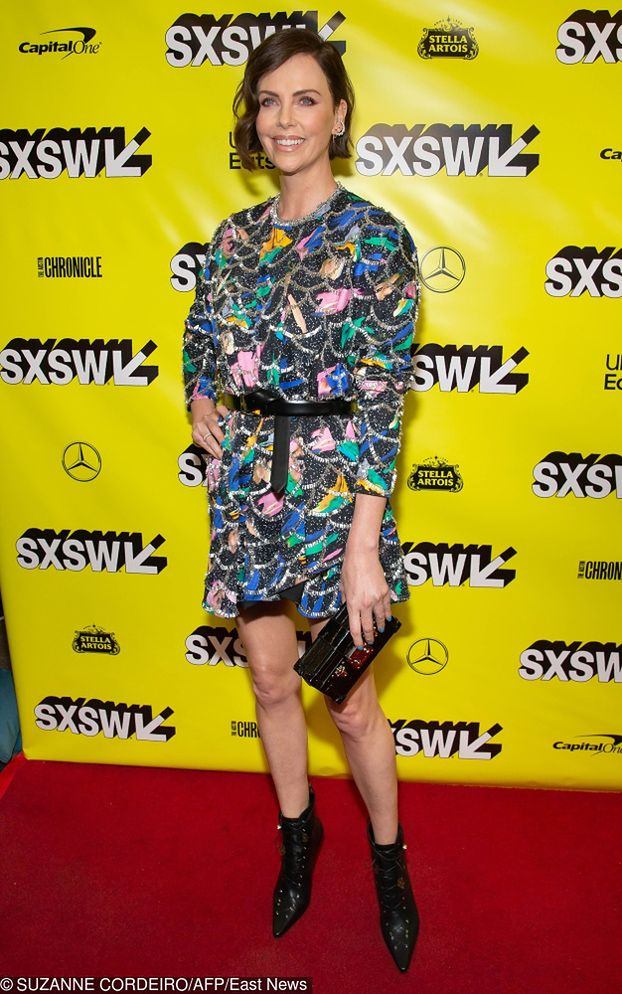Charlize Theron w dziwnej sukience od Diora | Party.pl