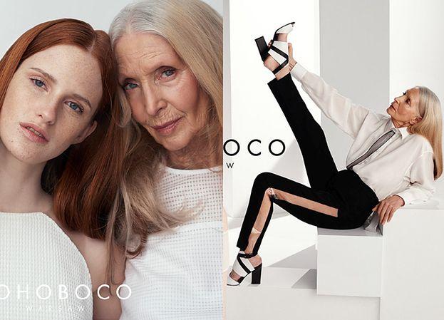 80-letnia modelka w kampanii Bohoboco! (ZDJĘCIA)