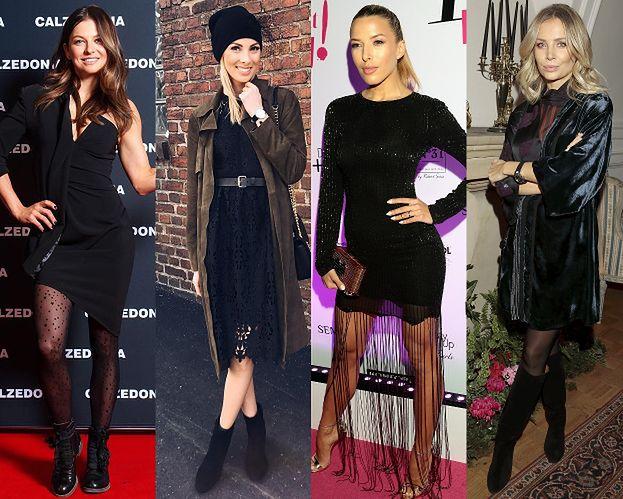 Czarna sukienka - najważniejsze trendy