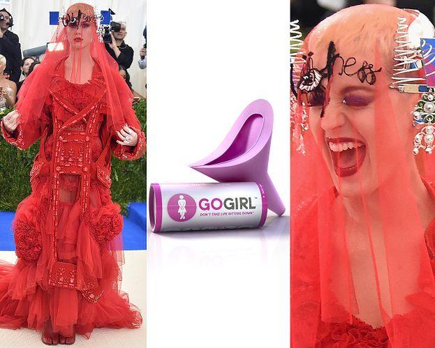 Katy Perry na gali MET musiała korzystać z... LEJKA do oddawania moczu!