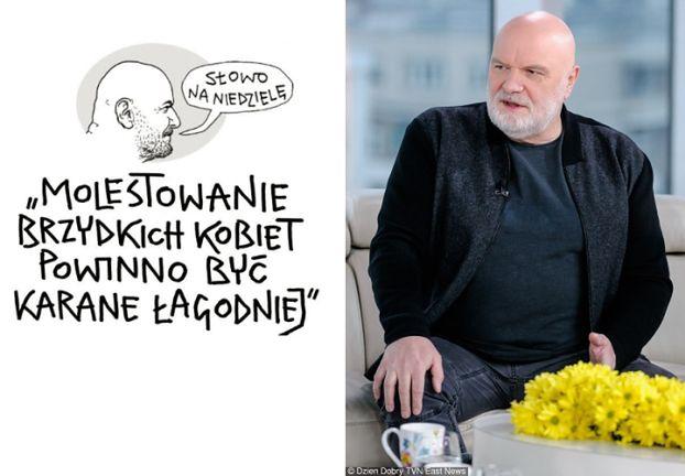 """Andrzej Mleczko tłumaczy się z """"molestowania brzydkich kobiet"""": """"To nie był seksizm!"""""""