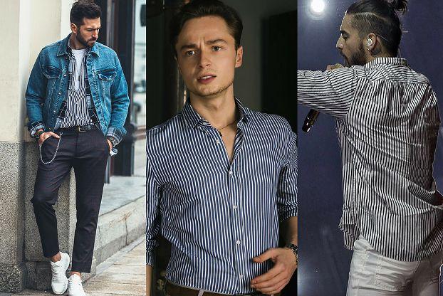 Koszule męskie w paski - z czym je łączyć?