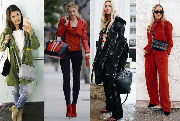 Skórzane torebki, które wybierają gwiazdy - 5 propozycji