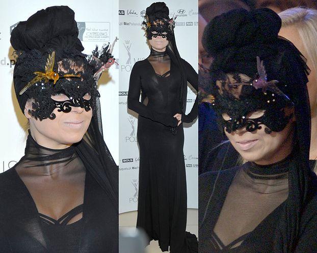 Kto założył maskę na galę Miss Polonia? (FOTO)