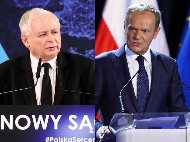 """Donald Tusk zaczepia Jarosława Kaczyńskiego: """"Mamy przeszkadzać i NIE POPIERAĆ"""""""
