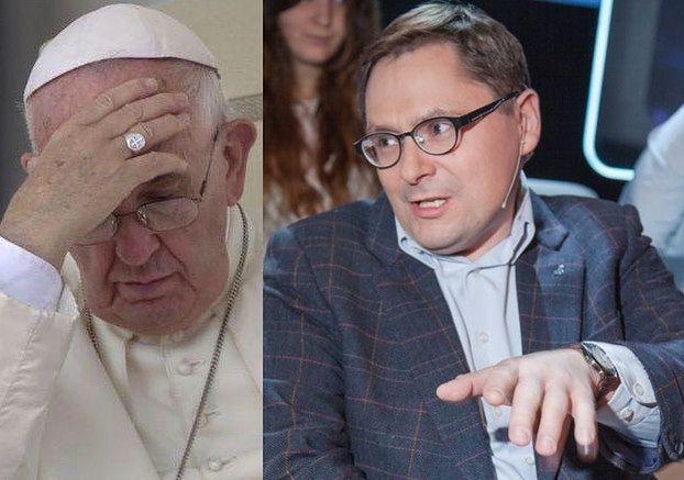 """Tomasz Terlikowski znów tłumaczy, że papież nie wie, co mówi. """"Nie używam stwierdzenia """"herezja"""""""""""