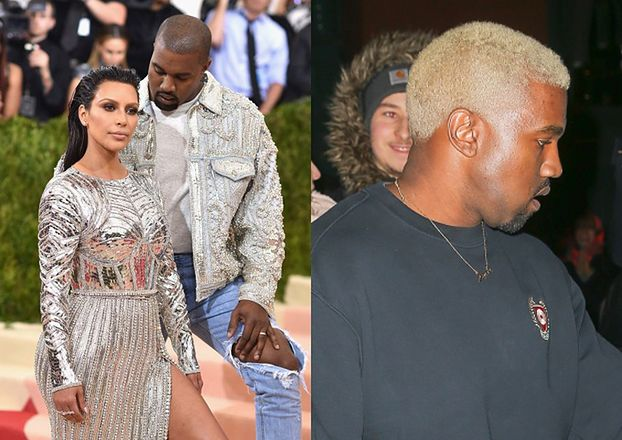 """Kanye nie pojawi się z Kim na gali MET! """"Zostanie w Los Angeles by opiekować się dziećmi"""""""