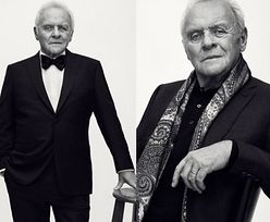 79-letni Anthony Hopkins został modelem!