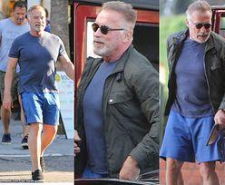 71-letni Arnold Schwarzenegger prezentuje atletyczną figurę w Los Angeles