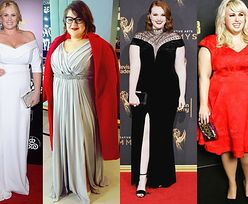 Sukienki wieczorowe plus size - jakie wybierają gwiazdy?