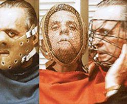 Anthony Hopkins w maskach Hannibala Lectera... (ZDJĘCIA)