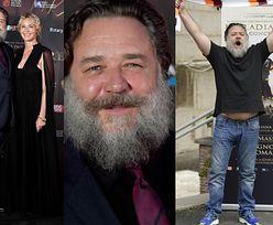 """Tak starzeje się Russell Crowe. Przypomina jeszcze """"gladiatora""""? (FOTO)"""