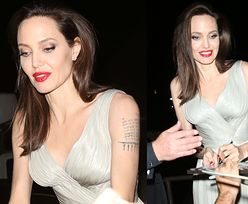 Wychudzone ramiona Angeliny straszą na rozdaniu nagród (ZDJĘCIA)