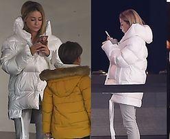 Gosia spędza rodzinne popołudnie z nosem w telefonie