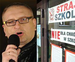 """Poseł Pięta o strajku nauczycieli: """"Nie liczą się z dobrem dzieci! Wyrzuciłbym ich NA PYSK!"""""""